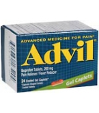 Advil Gel Caplet 24ct****OTC DISCONTINUED 3/3/14
