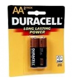 Duracell AA  Batteries 2/Pk