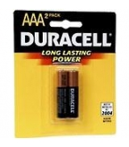 Duracell AAA  Batteries 2/Pk