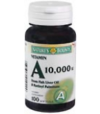 Natures Bounty Vitamin A 10000 I.U. Softgels 100ct