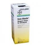 Keto-Diastix Reagent Strips 50/Box