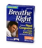 Breathe Right Strip Tan Large - 30