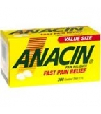 Anacin Tablet 300ct- MANUFACTURER BACK ORDER 8-13