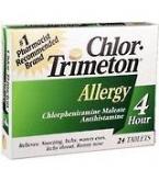 Chlor-Trimeton Allergy 4hr Tablet - 24