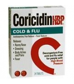 Coricidin HPB Cold&Flu Tablet 24 ct
