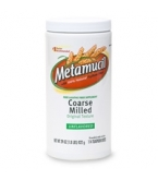 Metamucil Original Texture Coarse Milled Unflavored 72 Doses - 19oz