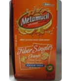 Metamucil Fiber Singles Orange Smooth Texture Sugar Free - 30