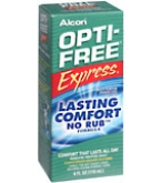 Opti-Free Express No Rub Disinfection Solution 4 oz