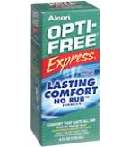 Opti-Free Express No Rub Disinfection Solution 4 oz