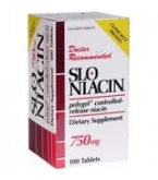 Slo-Niacin 750mg Tablet - 100