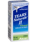 Tears Naturale II Lubricant Eye Drops 15ml