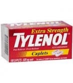 Tylenol Extra Strength Caplet - 100 Count Bottle