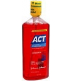 ACT Fluoride Rinse Cinnamon  18 oz****OTC DISCONTINUED 3/3/14