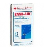 Band-Aid Butterfly Medium 10/Box***otc Discontinued  2/25/14