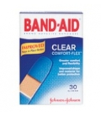Band-Aid  Clear Comfort-Flex Bandage - 30****OTC DISCONTINUED 3/5/14