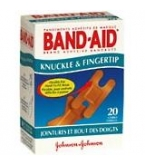 Band-Aid Bandage Flexible Knuckle/Fingertip - 20
