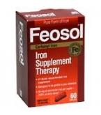 Feosol Caplet Bonus Size 75ct- MANUFACTURER BACK ORDER 8-10