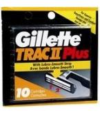 Gillette Trac II Plus Blades - 10