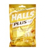 Halls Plus w/Medicine Center Vapor Action Honey-Lemon 25 Drops