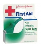 Johnson & Johnson Tape Paper Dispenser 1 Inch X 5 Yd Each