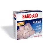 Band-Aid Bandage Sheer Comfort Flex Assorted - 80