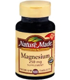 Nature Made Magnesium 250 mg Tablets - 100