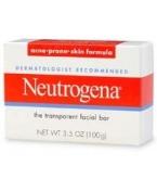 Neutrogena Transparent Facial Bar (Acne-Prone Skin Formula) - 3.5oz****OTC DISCONTINUED 2/28/14