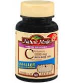 Nature Made Vitamin C 1000 mg Tablets With Rose Hips Timed Release 60ct