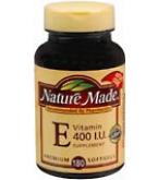 Nature Made Vitamin E 400 I.U. Softgels 180ct