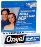Orajel Mouth Sore Gel 0.18 oz