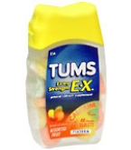 Tums E-X Tablets Assorted Fruit - 48****OTC DISCONTINUED 2/28/14