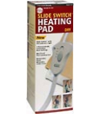 Cara Heating Pad Slide Switch Dry