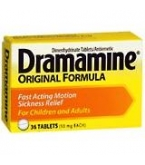 Dramamine Tablet 36ct- BACK ORDERED 8-13