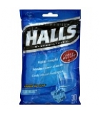 Halls Mentho-Lyptus Advanced Vapor Action Ice Blue 30 Drops