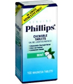 Phillips Chewable Tablets Mint - 100 count