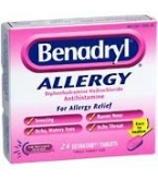 Benadryl Allergy Ultratab 24ct.