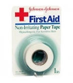 Johnson & Johnson Tape Paper 1 Inch X 10 Yd