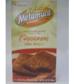 Metamucil Cinnamon Fiber Wafers 12 - .85 oz (24g) 2-Wafer Doses