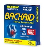 Backaid Maximum Strength Tablet 28ct****OTC DISCONTINUED 3/5/14