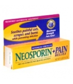 Neosporin Plus Pain Relief Max Strength First Aid Antibiotic Ointment .5oz