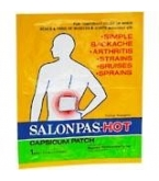 Salonpas-Hot Capsicum Patch Each