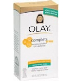 Olay Complete All Day Moisture Lot UVA/UVB Protection Sens Skin 4oz