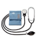 Life Source Home Blood Pressure Kit with Attached Stethoscope UA-100 1