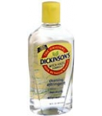 Dickinsons Witch Hazel Astringent Yellow 16 oz
