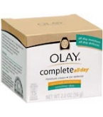 Olay Complete All Day Moisture Cream UVA/UVB Protection Sens Skin 2oz