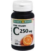 Natures Bounty Vitamin C 250 mg Tablets 100ct