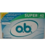 O.B. Tampon Super 40ct