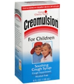Creomulsion For Children Soothing Cough Syrup 4oz****OTC DISCONTINUED 2/28/14