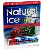 Natural Ice Lip Balm Cherry SPF 15 Mentholatum