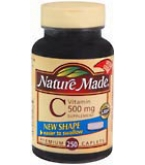 Nature Made Vitamin C 500 mg Caplets 250ct